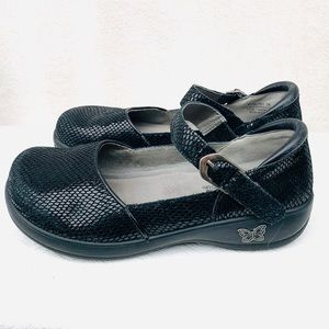 Alegria Mary Janes Sz 8.5 Leather loafer